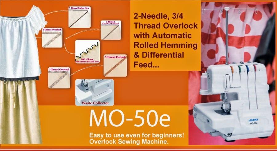 Juki Mo50e Overlock machine shah alam klang selangor kl bangi