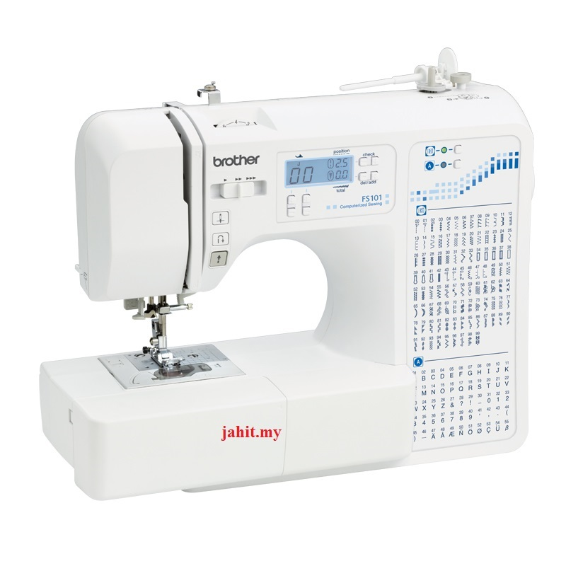 Brother Fs101 electronic computerized sewing machine in selangor kl malaysia