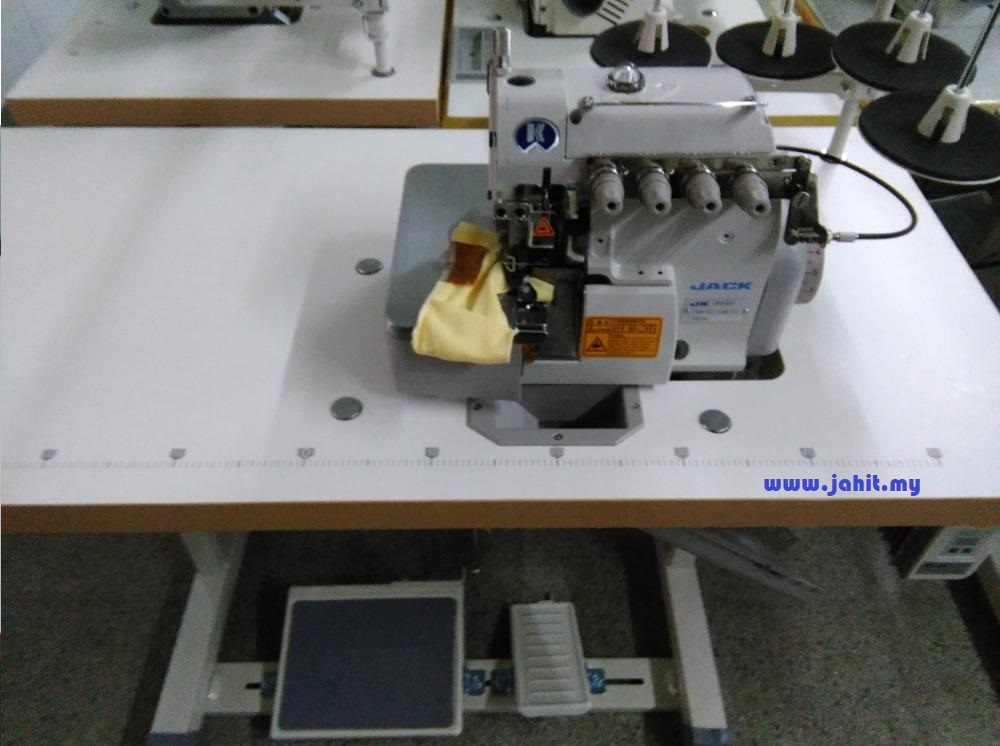 Mesin jahit tepi industri jack industrial overlock sewing machine in kl selangor malaysia