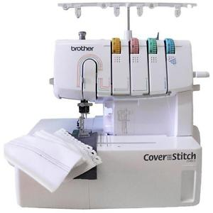 Mesin jahit coverstitch portable