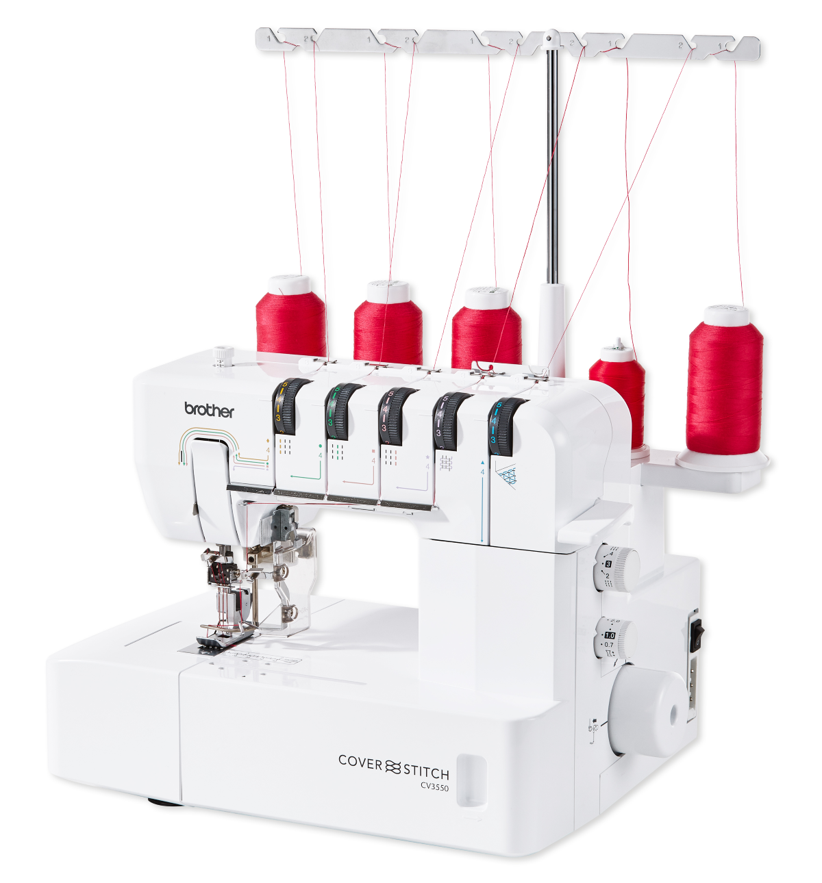 brother cv3550 coverstitch sewing machine