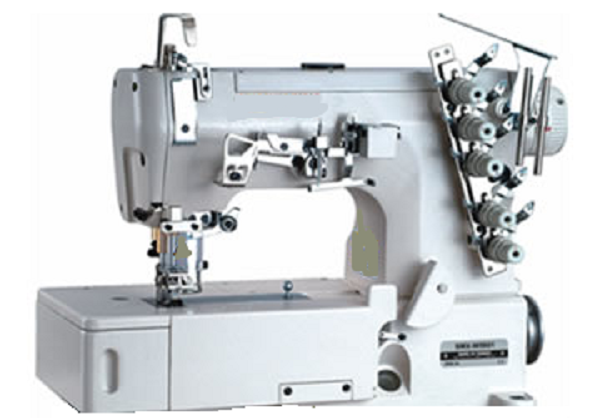 Flat lock stitch machine
