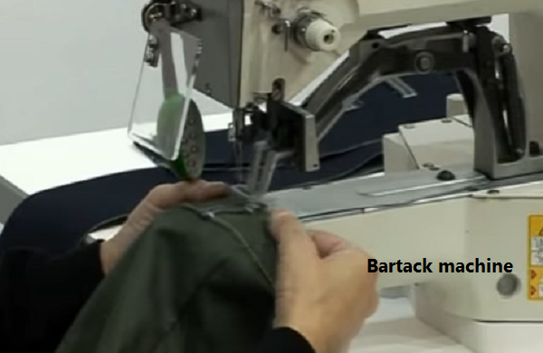 bartacking industrial sewing machine