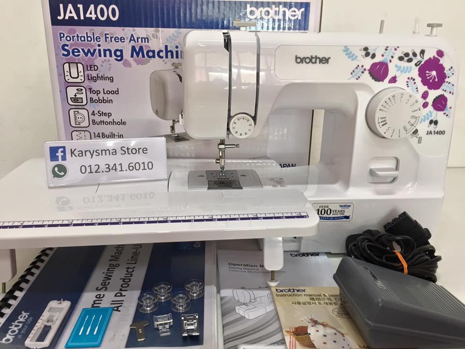 Mesin jahit brother JA1400 Sewing machine Shah Alam Klang Selagor