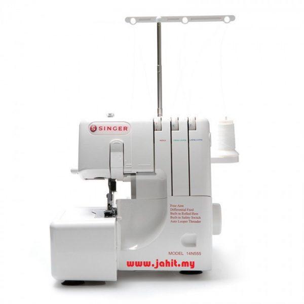 singer 14n555 Overlock machine Bangi shah alam selangor kl mesin jahit portable