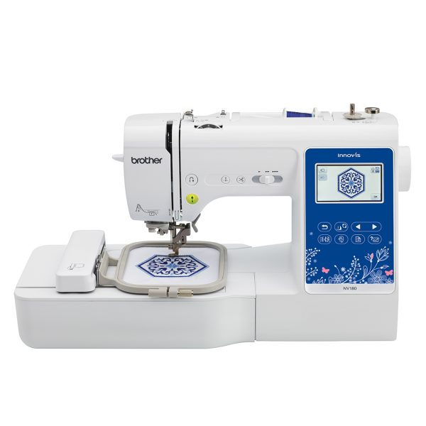 Mesin Jahit Sulam Brother NV180 Embroidery Sewing Machine