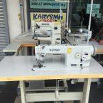 Mesin jahit kulit walking foot sewing machine compound feed