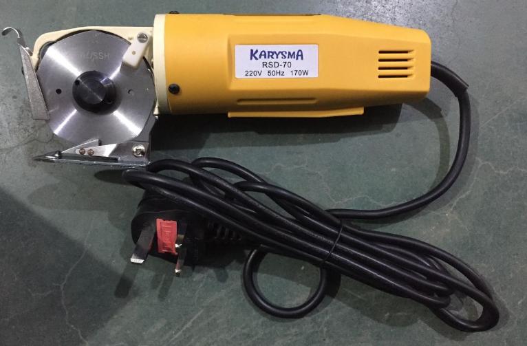 mesin pemotong kain (Cloth cutting machine 70mm rotary cutter)